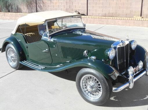 Photo 1951 MG TD T-Series